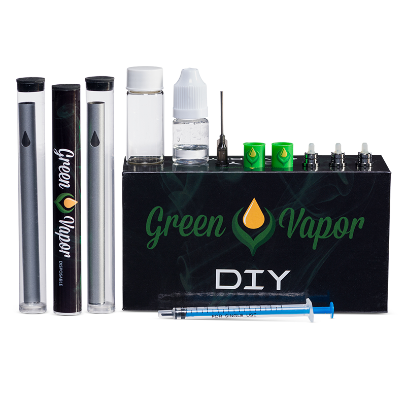 DIY KIT   CBD Tincture Oil & Products Supplier   Green Vapor USA